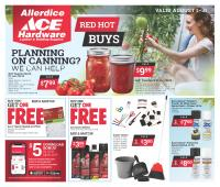 View: AUGUST RED HOT BUYS