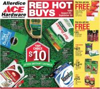 View: SEPTEMBER RED HOT BUYS