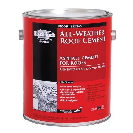 Black Jack All Weather Asphalt Cement For Roofs