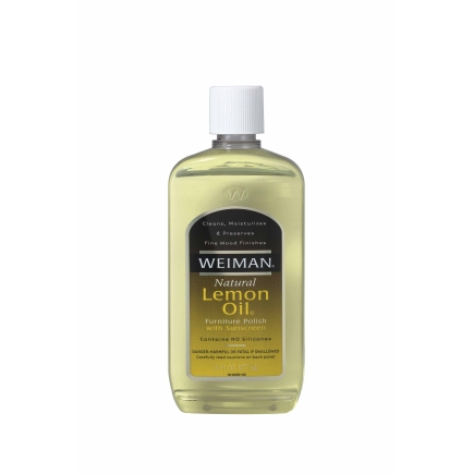 Weiman Lemon Oil Furniture Polish 18a