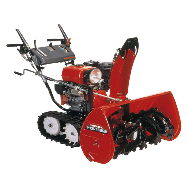 Honda Hs1132ta Self Propelled Track Drive Snowblower