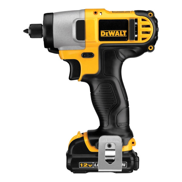Dewalt 12V Max 1/4in Cordless Impact Driver Kit