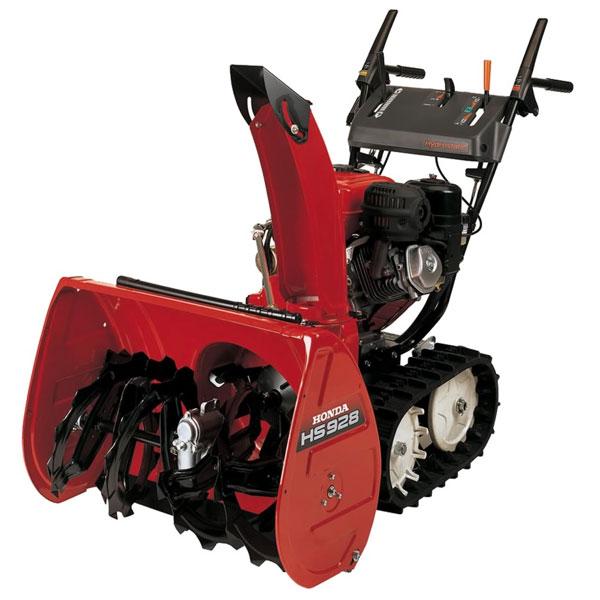 Garden Tractor Track Drive Kit : Honda hs tas self propelled track drive snowblower
