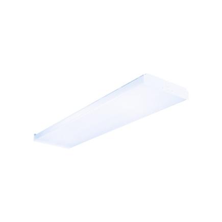 Metalux 4 Ft. T8 White Fluorescent Wrap Utility Light Fixture (WN232R)
