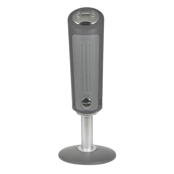 Pedestal Electric Heaters : Lasko in digital ceramic pedestal heater with remote