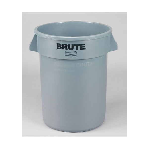 Rubbermaid Brute 32 Gal.Commercial Grade Trash Can