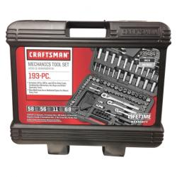 Craftsman Mechanics Tool Set(00939484)