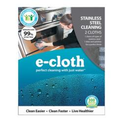 e-cloth  Stainless Steel Cleaning Cloth (10617)