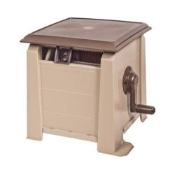 Ames Neverleak Stationary Hose Cabinet 175 ft. Brown/Tan(2398800)