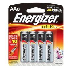 Energizer AA Alkaline Batteries (E91MP)