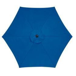 Living Accents 9 ft. Dia. Tiltable Patio Umbrella Royal Blue(UM90BKOBD34RB)