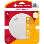 View: First Alert Battery-Powered Photoelectric Smoke Detector