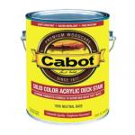 View: Cabot 1 Gal Opaque Nuetral Base Solid Color Decking Stain (01-1806)