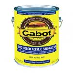 View: Cabot 1Gal Nuetral Base Solid Color Acrylic Siding Stain (01-0806)