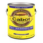 View: Cabot 1 Gal White Base Solid Color Acrylic Siding Stain (01-0801)