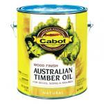 View: Cabot 1 Gallon Natural Exterior Australian Timber Oil (01-19400)