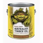 View: Cabot 1 Gallon Mahogany Flame Exterior Australian Timber Oil (01-19459)