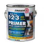 View: Zinsser Bulls Eye 1-2-3 Primer Sealer Stain Killer