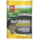View: Scotts Turf Builder 28-0-3 Weed and Feed For All Grass Types 43 lb. 15000 sq. ft.