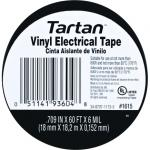 View: 3M Tartan 60ft 3/4in General Purpose Electrical Tape (1615) - 10 Pack