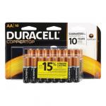 View: Duracell Coppertop AA Alkaline Batteries 1.5 volts Carded 16 pk