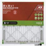 View: Ace 20in x 20in x 1in Pleated Furnace Air Filter