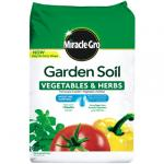 View: Miracle Gro Vegetable and Herb 48.9lb Garden Soil (73759430)