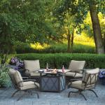 View: Living Accents Odyssey Firepit Set 5 pc.