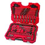 View: Craftsman 1/4, 3/8 and 1/2 in. drive Metric and SAE 6 Point Mechanic's Tool Set 121 pc.